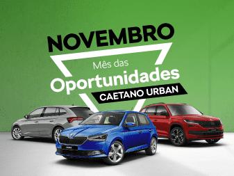 Novembro é o mês das oportunidades ŠKODA na Caetano Urban