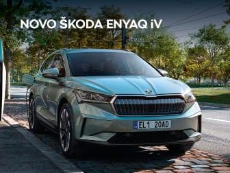 Reserve já o novo e eletrizante ŠKODA ENYAQ
