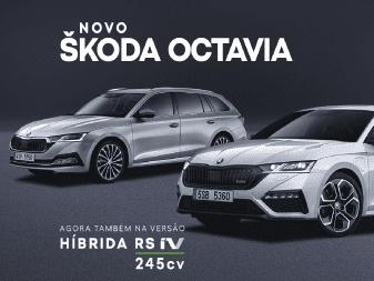 Novo Skoda OCTAVIA e OCTAVIA RS iV