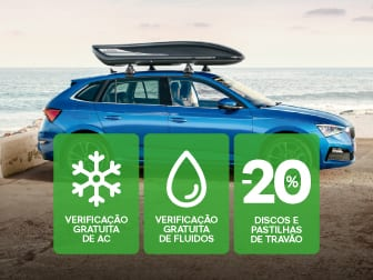 Summer Check: Verifique o ar condicionado e fluidos do seu ŠKODA